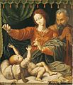 Claes Gorisz after Rapael - Madonna of Loreto FHM01 OS-I-137.JPG