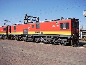 South African Class 10E2 - Image: Class 10E2 10 104