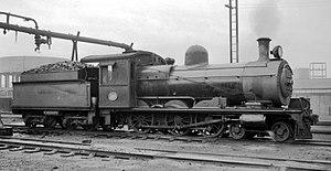 South African Class 6C 4-6-0 - OVGS 6th Class L2 no. 88, CSAR Class 6-L2 no. 364, SAR Class 6C no. 553, with a Belpaire firebox and bogie tender