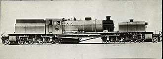 1927 in South Africa - Class GF Garratt