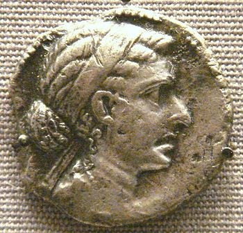 English: Cleopatra_VII_tetradrachm_Ascalon_mint