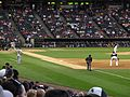 Cleveland Indians v. Chicago White Sox, U.S. Cellular Field (Comiskey Park), Chicago, Illinois (9181787934).jpg