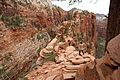 Climbing up to Angels Landing (Zion National Park) (3444016960).jpg