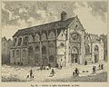 Cloître et église Saint-Benoît, en 1810.jpg