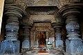 Closed mantapa in the Akkana Basadi (1181 A.D.) at Shravanabelagola.jpg