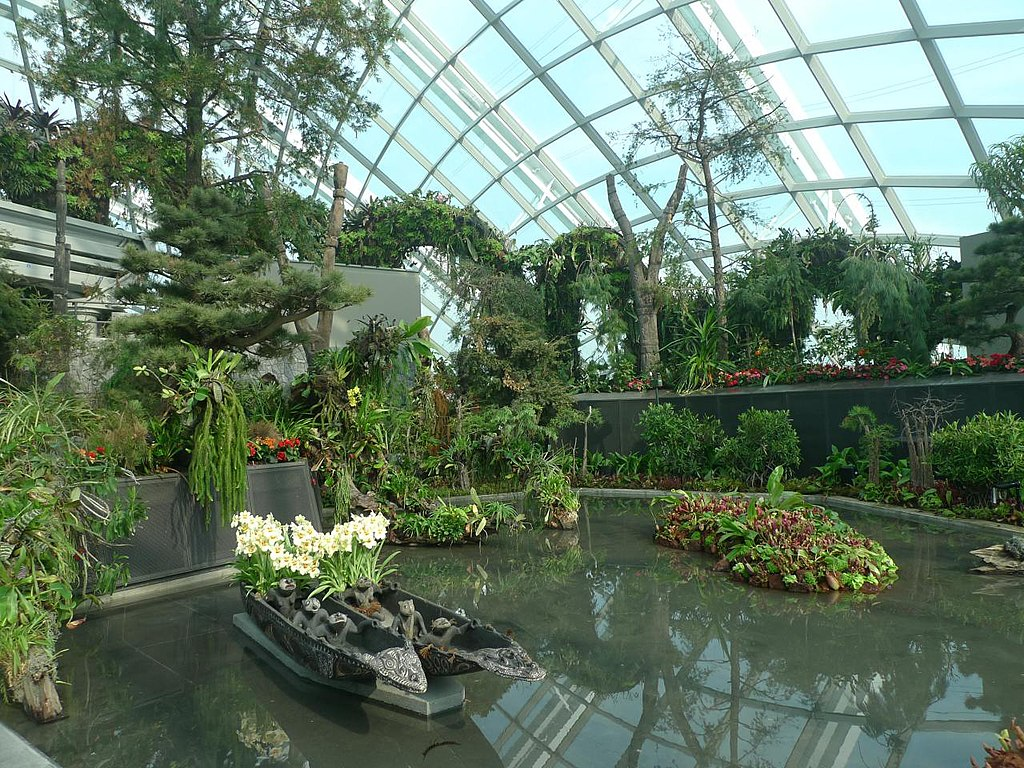 File Cloud Forest Gardens By The Bay Singapore 20120628 Wikimedia Commons