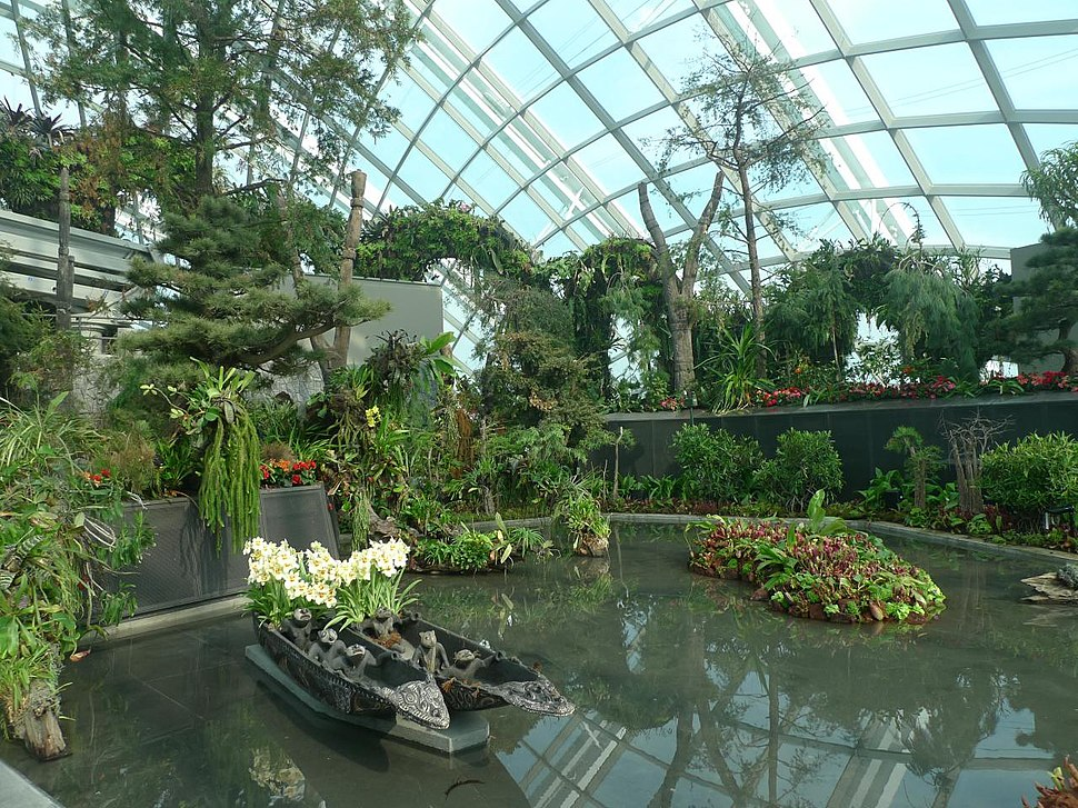 Cloud Forest, Gardens by the Bay, Singapore - 20120628-01