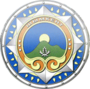 https://upload.wikimedia.org/wikipedia/commons/thumb/1/1e/Coat_of_arms_of_Shymkent.png/90px-Coat_of_arms_of_Shymkent.png