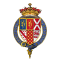 Coat of arms of Sir George Talbot, 4th Earl of Shrewsbury, KG.png