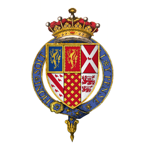 Battle of Stoke Field - Image: Coat of arms of Sir George Talbot, 4th Earl of Shrewsbury, KG