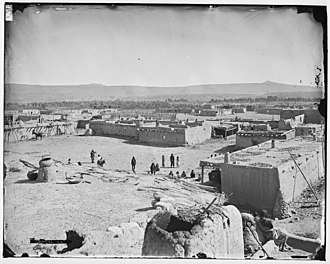 Cochiti, New Mexico - Cochiti Pueblo between c. 1871-c. 1907