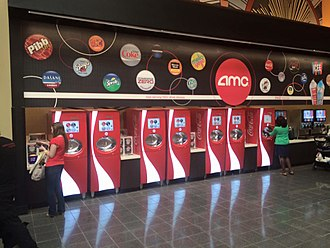 Coca-Cola Freestyle - Coke Freestyle machines at AMC Theaters in Palisades Mall