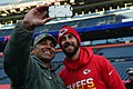 Col. Lorenzo Bradley takes a selfie with Alex Smith (3016277).jpg
