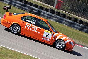 Colin Turkington - Turkington driving the Team RAC-run MG at Brands Hatch in 2006.