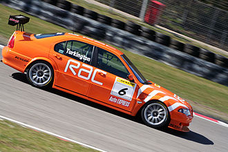 Colin Turkington - Turkington driving the Team RAC-run MG at Brands Hatch in 2006.