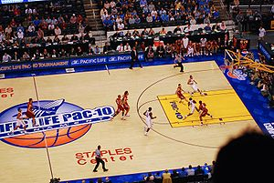 2007–08 UCLA Bruins men's basketball team - Collison at the 2008 Pac-10 Championship game