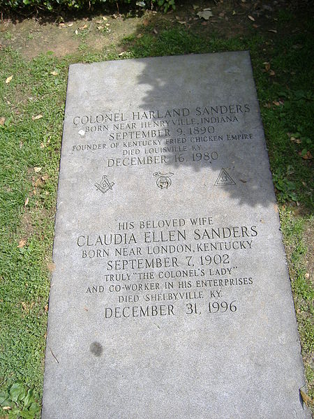 450px-Colonel_Sanders_Grave_3.jpg