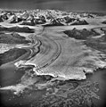 Columbia Glacier, Calving Terminus with Oblique Look of Valley Glacier, August 25, 1969 (GLACIERS 1028).jpg