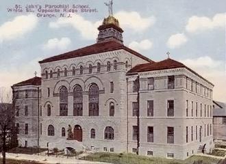 Columbus Hall, Orange, New Jersey - Columbus Hall, Orange, New Jersey.  Jeremiah O'Rourke, 1894.