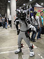 Comikaze Expo 2011 - Ravage from Transformers? (6324629133).jpg
