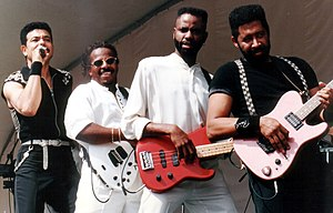 The Commodores in Hallandale, Florida in the 1990s