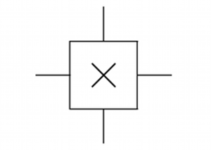 Hall effect sensor - Commonly used circuit symbol