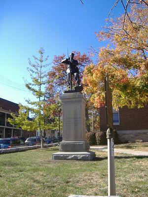 Confederate Memorial in Nicholasville - Image: Confederate Memorial in Nicholasville 2