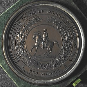 Great Seal of the Confederate States of America - Image: Confederate Seal Electrotype