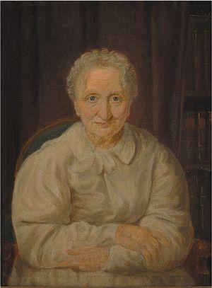 Juliane Marie Jessen - Portrait of Juliane Marie Jessen by Constantin Hansen, ca. 1830