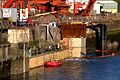 Construction of additional Lock Gates at Milford Haven IMG 3884 -1.jpg