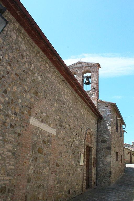 Chiesa Santa Maria Assunta in Contignano, frazione di f Radicofan