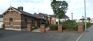Cookstown railway station - Image: Cookstown Railway Station geograph.org.uk 871673