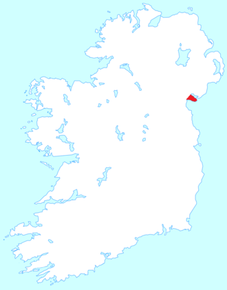 Cooley Peninsula - Location of the Cooley Peninsula