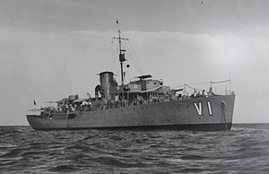 HMCS Wetaskiwin - Victoria in venezuelan navy.