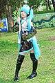 Cosplayer of Hatsune Miku 20090315a.jpg