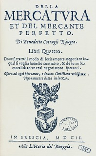 Benedetto Cotrugli Ragusan merchant, economist, scientist, diplomat and humanist