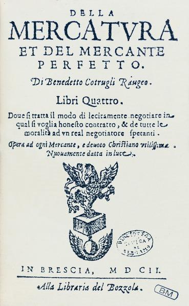 File:Cotrugli - Della mercatura, 1602 - 122.tif