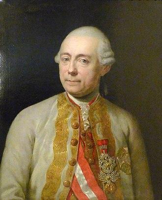 Irish military diaspora - Franz Moritz von Lacy