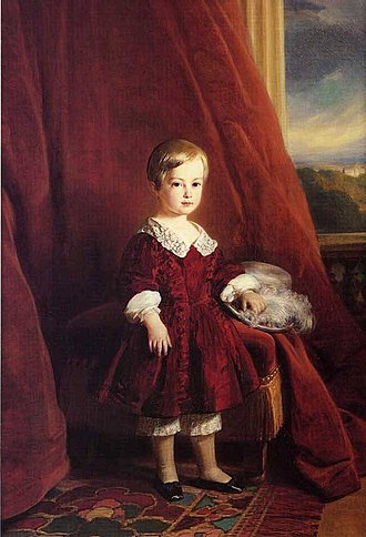 Gaston, Count of Eu - Gaston d'Orléans, Count of Eu, at the age of five