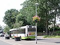 Countryliner bus waits in Keymer Road, Hassocks - geograph.org.uk - 2568097.jpg