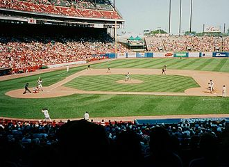 Milwaukee County Stadium - County Stadium in 2000