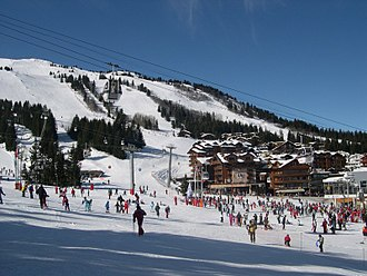 Courchevel - Courchevel 1850, the highest part of the resort
