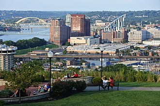 Covington, Kentucky - Downtown Covington skyline