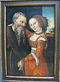 Cranach il vecchio, la coppia malassortita, wittenberg, 1530 ca.JPG