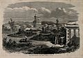 Crimean War; the French cemetery. Wood engraving. Wellcome V0015429.jpg
