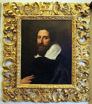 Michelangelo Buonarroti the Younger - Portrait by Cristofano Allori (Casa Buonarroti, Florence)