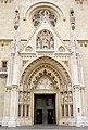 Croatia-00489 - Zagreb Cathedral Entrance (9286684444).jpg