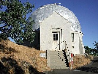 Crossley telescope - Image: Crossley entrance