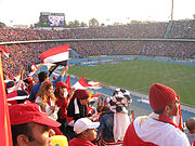 Crowd in Cairo Stadium