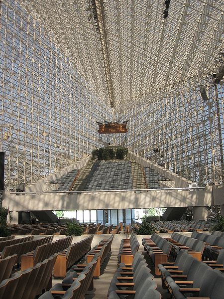 Catedral de Cristal by Philip Johnson